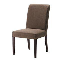 HENRIKSDAL Chair - Dansbo medium brown, - - IKEA