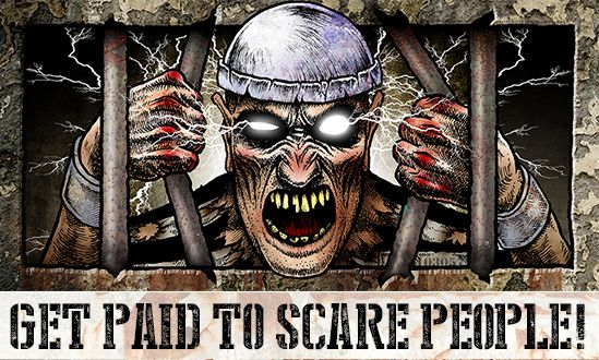 Jobs at Statesville Haunted Prison<sup>®</sup> and City of the Dead Haunted Attraction in Crest Hill, Haunted House, Just Outside of Chicago, Illinois IL