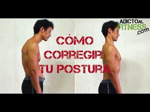 Cómo corregir la postura de la espalda - Ejercicios para espalda encorva...