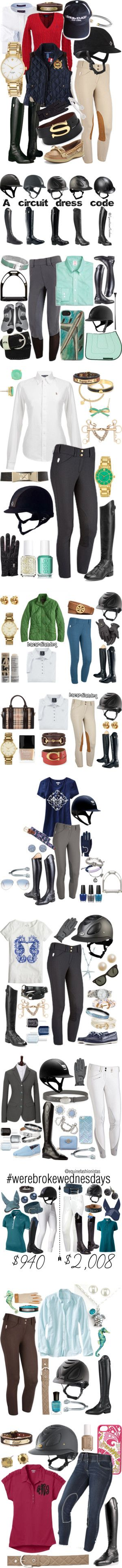 Equestrian by jumpers-eq on Polyvore featuring Beacon, Ralph Lauren Sport, Ralph Lauren, Ariat, C. Wonder, David Yurman, Kate Spade, Sperry Top-Sider, Roeckl and women's clothing