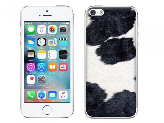 Czarno-biały łaciaty wzór na etui do telefonu ? Cow fur on phone case  #case #cow #fur #animal #pattern