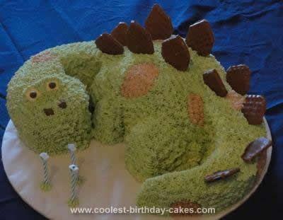 3d dinosaur cake template - cool homemade light green dinosaur cake dinosaur cake
