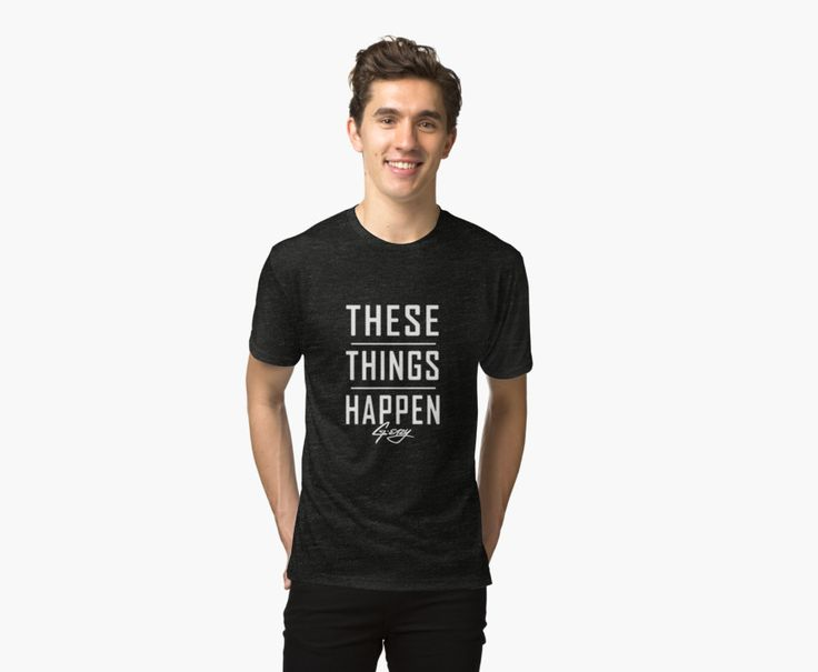 'G Eazy - These Things Happen' Tri-blend T-Shirt by cbarkyt | @giftryapp