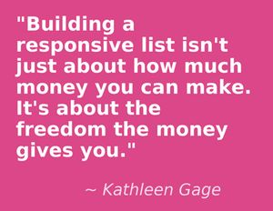 "You've heard the saying; ""The money is in the list."" right? But how do you build one? First step, get free list building software here: http://nonbiasedreviews.com/squeezepage/free-squeeze-page/"