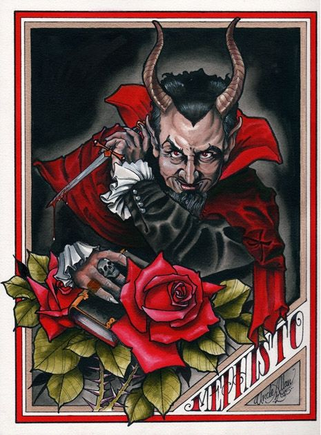 'The Devil's Reign': Demonic art exhibit curated by Church of Satan's High Priest | Dangerous Minds