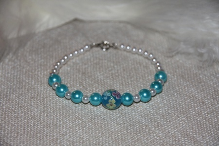one of my handmade braclets