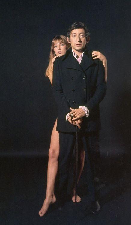 Jane Birkin & Serge Gainsbourg in 1969