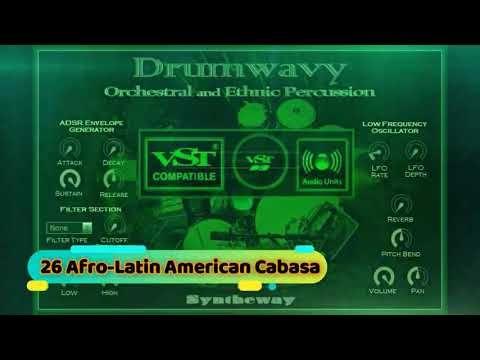 Drumwavy VST VST3 Audio Unit: Orchestral and Ethnic