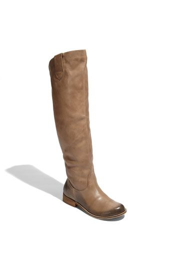Just bought these. Affordable, above the knee, soft leather boots from Nordstroms.