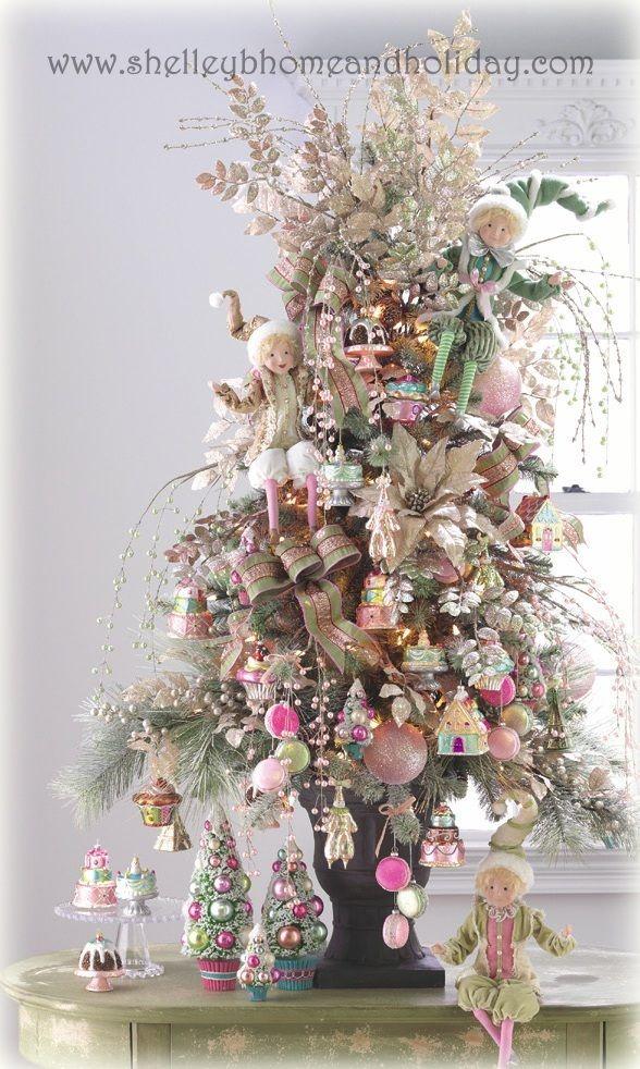 55 best christmas home decor images on pinterest christmas decor pre decorated christmas trees delivered
