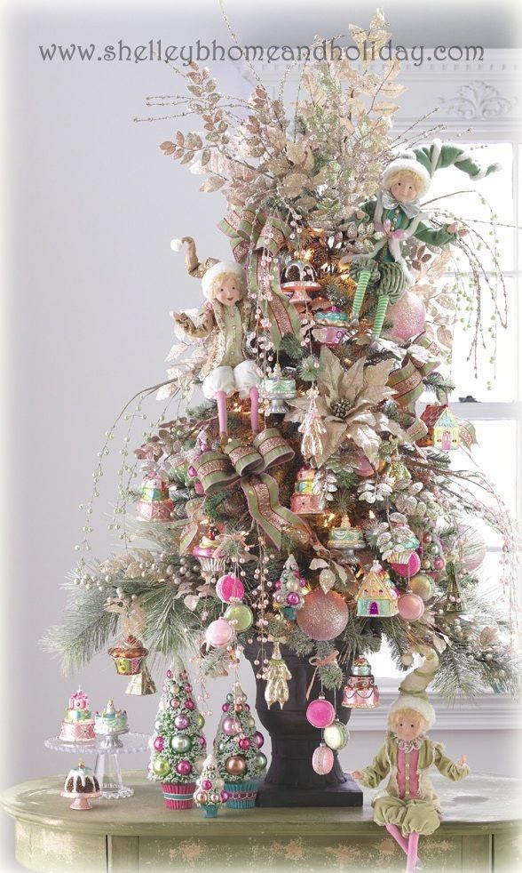 Pastel Christmas Trees   Stay At Home Mum