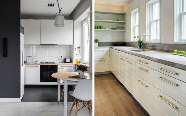 17 mejores ideas sobre Cocina En Forma De L en Pinterest  Cocina en forma de...