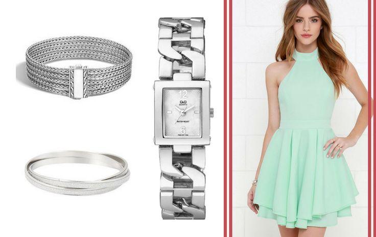 A természetes színek különösen tavasszal és nyáron, vagyis az esküvői szezon idején hódítanak. Egy bájos halványzöld ruhához pedig nehéz lenne ideálisabb kiegészítőt találni, mint ezt a kecses Q&Q karórát.
