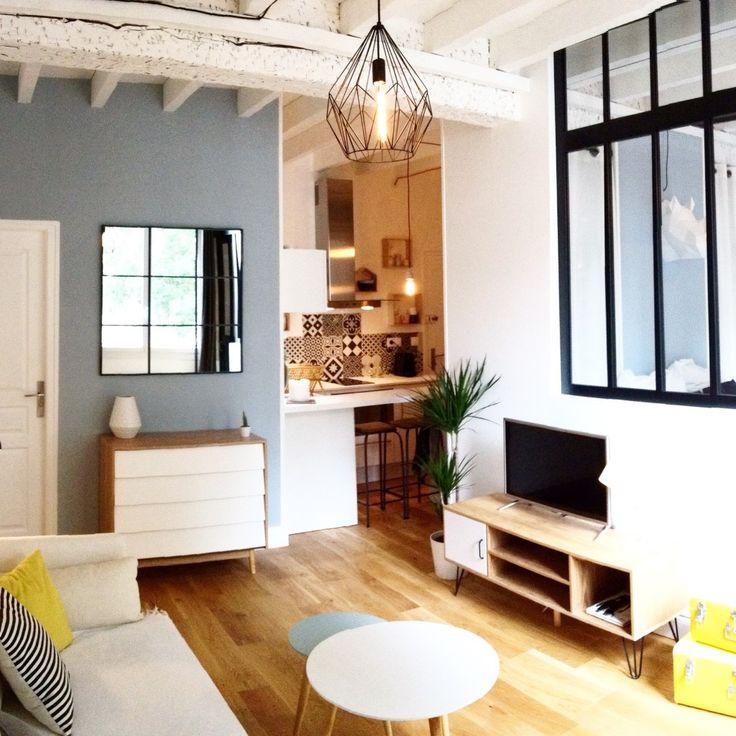 Les 11 meilleures images du tableau en visite chez plume - Charmant appartement lumineux touches couleurs ...