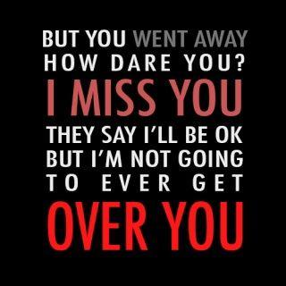 country music quotes   Country Music Quotes / Miranda Lambert ~ Over You