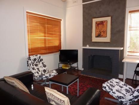 149 Central Avenue, Mt Lawley. The apartment contains a private laundry and has superbly comfortable bedding and reverse cycle air conditioning, as well as off street parking.  Vibrant original artwork and individually selected furniture create an eclectic and exciting ambiance.