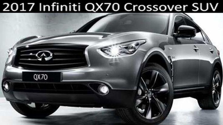 2017 Infiniti QX70 Crossover SUV - Review Interior Exterior Infiniti QX7...