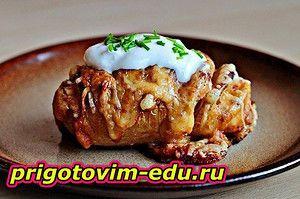 Как готовить печеный картофель на гриле — Кулинарные рецепты с фото и видео