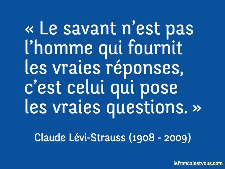Claude Lévi-Strauss est un anthropologue et ethnologue français qui a exercé une influence décisive sur les sciences humaines dans la second...