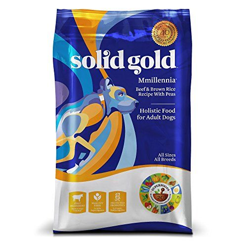 Solid Gold MMillennia Holistic Dry Dog Food Beef & Brown Rice with Peas Moderately Active Adult Dogs All Sizes 28lb Bag For Sale https://drydogfoodreviews.info/solid-gold-mmillennia-holistic-dry-dog-food-beef-brown-rice-with-peas-moderately-active-adult-dogs-all-sizes-28lb-bag-for-sale/