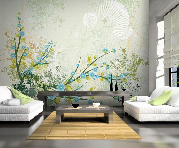 ber ideen zu fototapete blumen auf pinterest. Black Bedroom Furniture Sets. Home Design Ideas