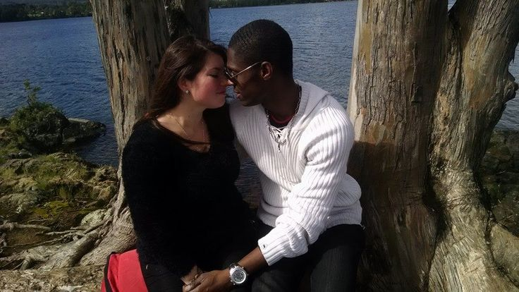 This Is My Boyfriend Emile And I He Is Jamaican And I Am -2505