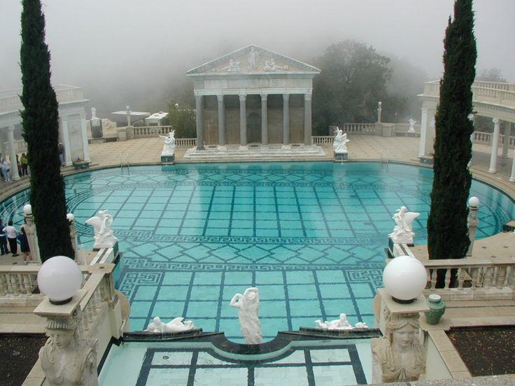 189 best hearst castle wyntoon estate images on - Hearst castle neptune pool swim auction ...