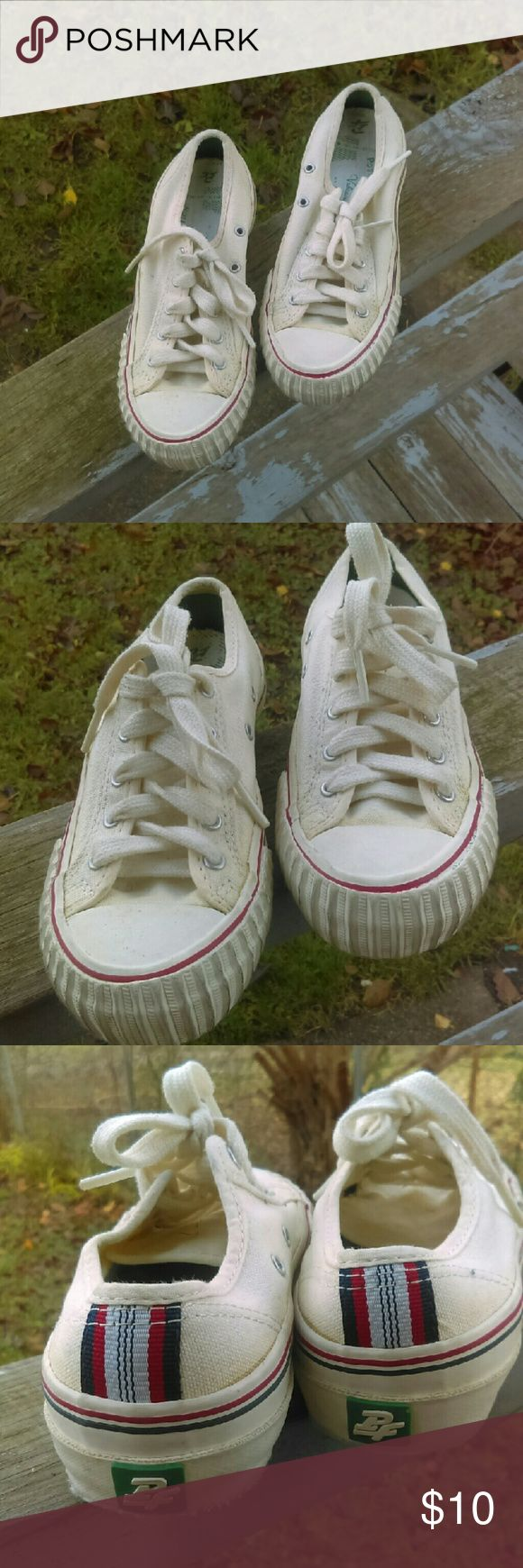 PF Flyers , Low Tops PF Flyer Low tops Off white color Great condition. pF Flyers Shoes Sneakers