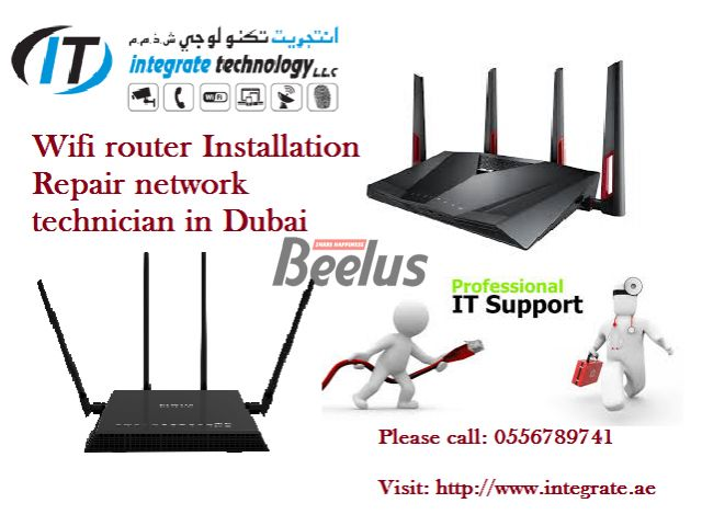 We offer the best service for complete internet wifi installation Asus Netgear in Dubai- 0556789741 We provide solutions-focused wireless professionals work with you when getting bandwidth to a location may be difficult or cost-prohibitive. Point-to-point wireless solution that meets your needs and your budget and installation of access points. IT Wi-Fi installation teams are trained, wireless engineers with years of experience needed in installing some of the most complex systems. Wireless…