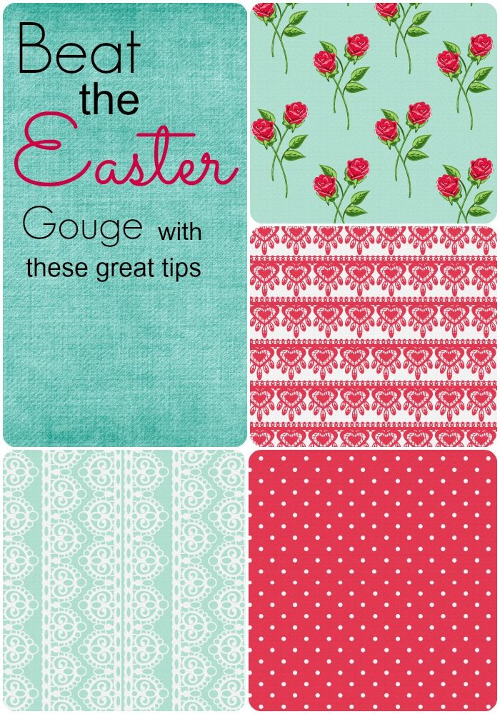 Tips to save this Easter - especially on the school Easter Raffle!