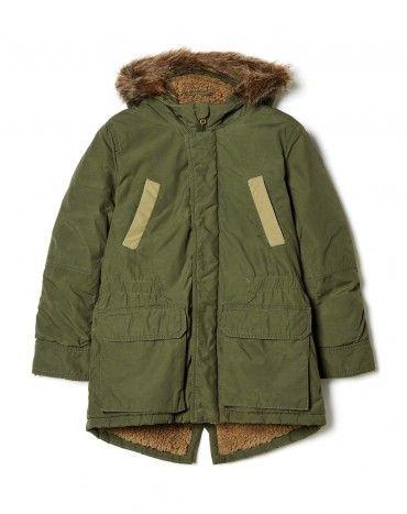 Blusões menino, casacos de ganga | Benetton