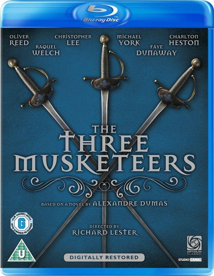 Pelicula de Los Tres Mosqueteros versión de 1973 basada en la obra homonima de Dumas.