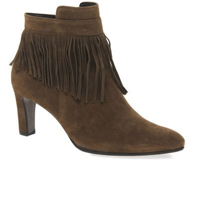 Gabor Tan 'Brand' womens modern ankle boots   Debenhams