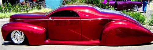 """R Benny Gatts ; Lincoln Zephyr....THIS is a """"lead sled', people...."""
