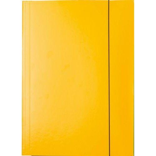 Irattartó mappa gumis - Sárga - Iratgyűjtő A4 mappa - Fornax Glossy 400 gr Ft Ár 139