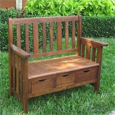Wooden Benches Indoor Ebay