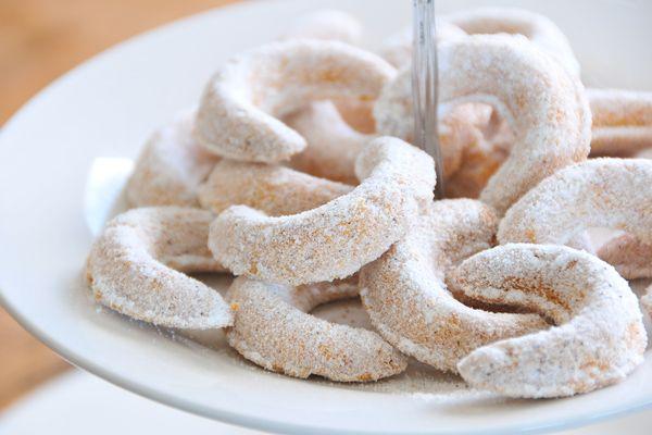 Vanillekipferl glutenfrei, vegan & fructosearm