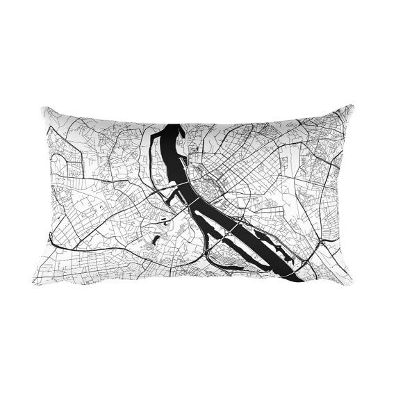 Riga Pillow, Riga Latvia Map, Riga Art, Riga Decor, Riga Cushion, Riga Throw Pillow, Riga Gift, Riga Throw, Riga Map Pillow, Riga Map Art