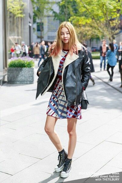 2014 S S Seoul Fashion Week Street Fashion Korean Girl Korea Fashion Pinterest Fashion