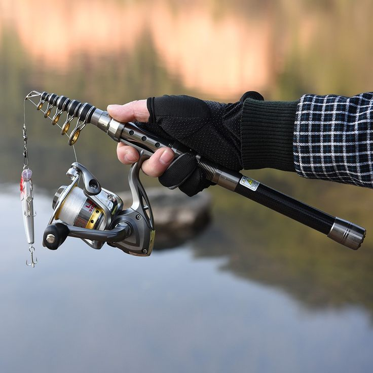 2.1 m Lixada Telescopic Fishing Rod and Reel Combo Full - Tomtop.com