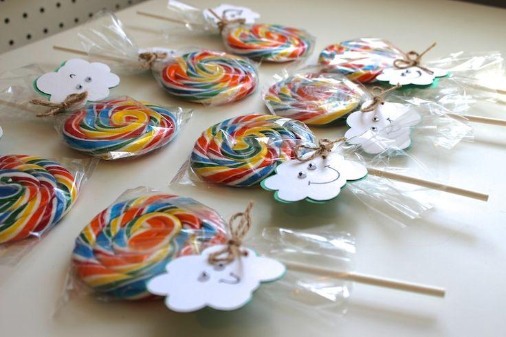 Rainbow Wedding. Lollipop favors if I do a multicolor wedding