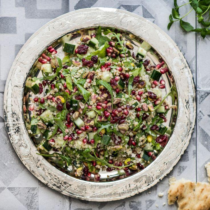 Bulgursalaatti | K-ruoka #granaattiomena
