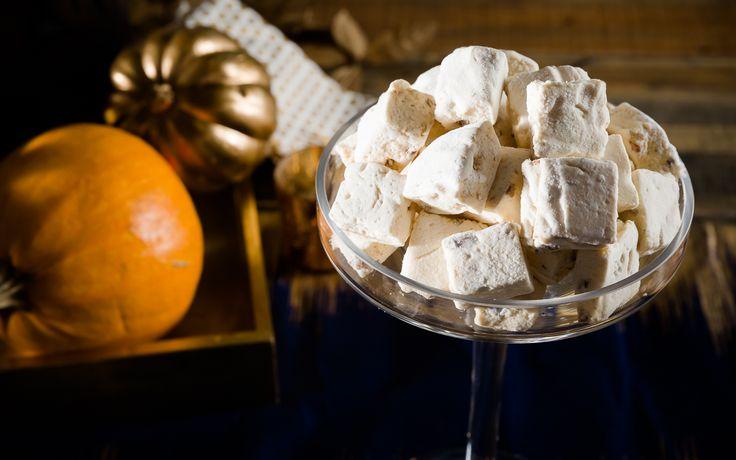 Sweet Potato Casserole Marshmallows with Bourbon and Pecan