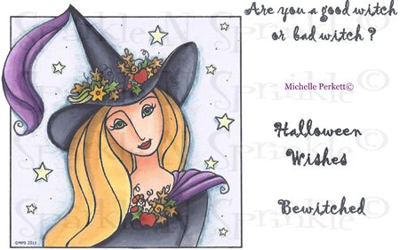 The Good Witch - Stamp Set 471