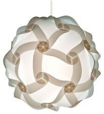These lamps come in all sorts of amazing! Get your home ready for fall with some orange and green puzzle lamps!