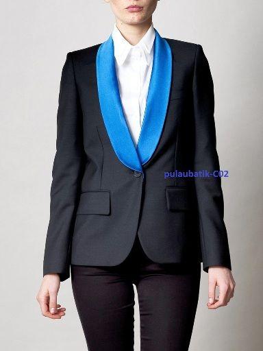 model blazer wanita sebagai baju kantor dengan desain jas blazer kerja terbaru yang elegan dan modis dipakai acara formal maupun resmi harga sangat murah