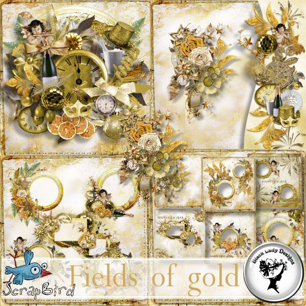 Fields of gold - Full pack by Black Lady Designs