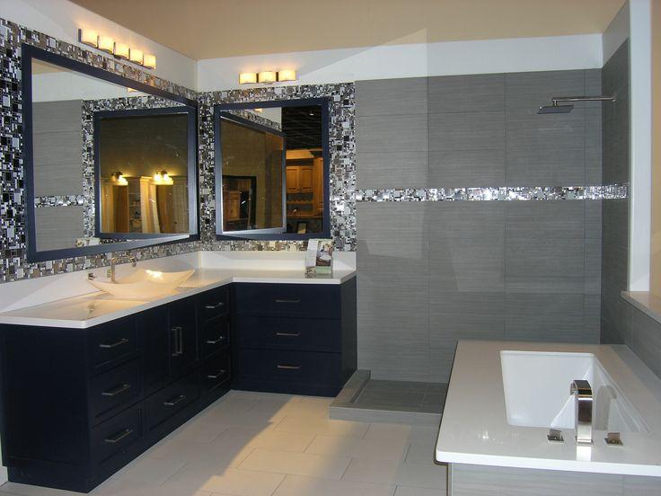 A Sleek And Modern Bathroom Space In The Classy Closets Chandler, Arizona  Showroom. We