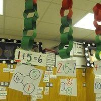 1. Les chaines Les enfants ont une étiquette et doivent décomposer un chiffre/nombre en respectant l'étiquette Ce que j'aime : - L'affichage possible - La possibilité de jouer sur les couleurs...