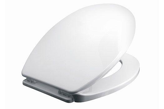 Abattant WC Iris blanc - Abattants WC unis - Abattants WC - Abattants WC + Brosses - Accessoires de salle de bains - Salle de bains + Sanitaires - Coop Brico+Loisirs